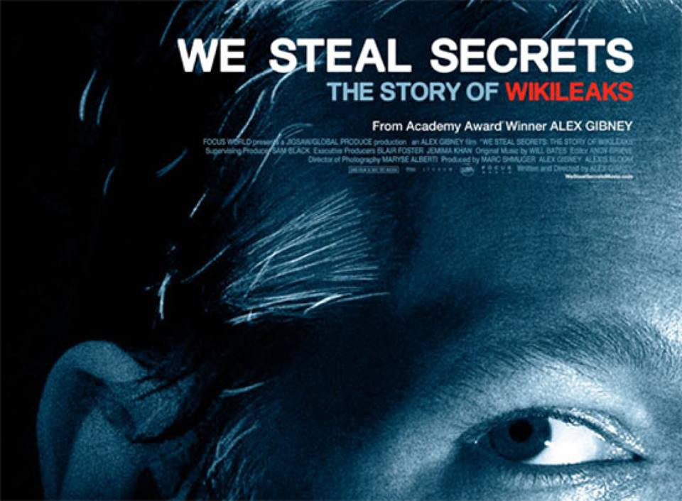 Proyección del documental 'We steal secrets'